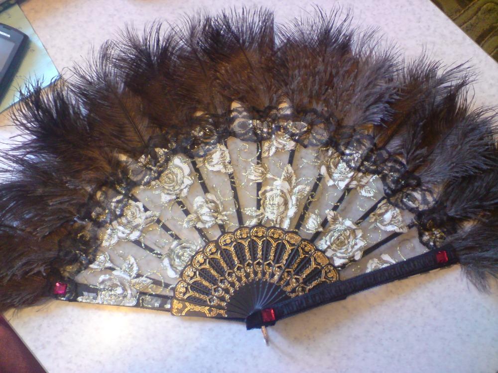 Поделка из перьев страуса 98